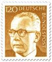 Briefmarke: Gustav Heinemann (120)