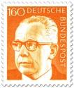 Briefmarke: Gustav Heinemann (160)