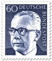 Alle Briefmarken Deutsche Bundespost Mit Dem Wert 60 Pfennige