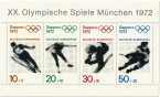 Briefmarke: Olympische Winterspiele 1972 Briefmarkenblock