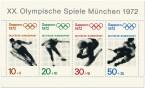 Olympische Winterspiele 1972 Briefmarkenblock