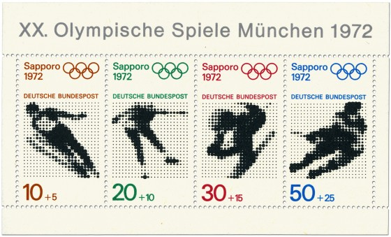 Briefmarke: Olympische Winterspiele 1972 Briefmarkenblock