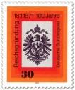 Reichsadler mit Krone (Reichsgründung 1871)