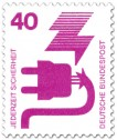 Briefmarke: Stecker - Defektes Kabel