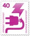 Briefmarke: Stecker - Defektes Kabel