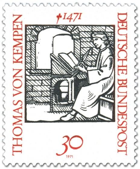 Briefmarke: Thomas von Kempen (Mönch, Mystiker)