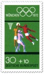 Briefmarke: Basketball (Olympia 72)