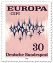 Briefmarke: Europamarke 1972 (Sterne, 30)