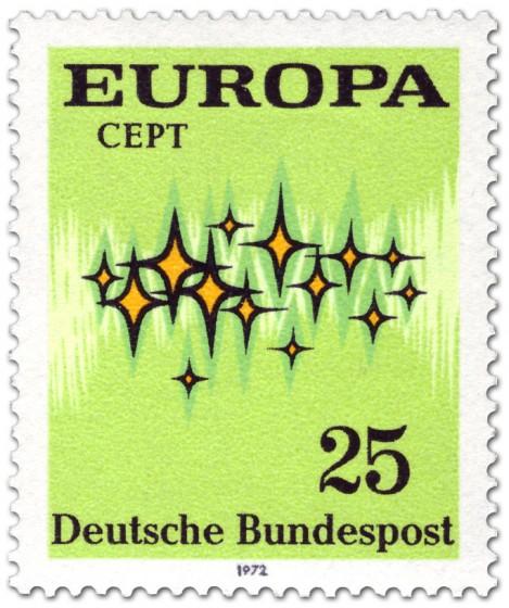 Briefmarke: Europamarke 1972 (Sterne)