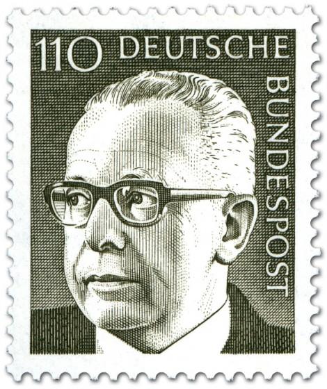 Briefmarke: Gustav Heinemann (110)