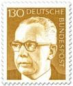 Briefmarke: Gustav Heinemann (130)