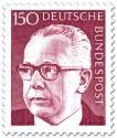 Briefmarke: Gustav Heinemann (150)