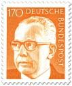 Briefmarke: Gustav Heinemann (170)