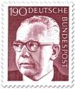 Briefmarke: Gustav Heinemann (190)