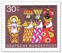 Briefmarke: Heilige drei Könige (Weihnachtsmarke 1972)
