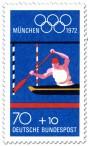 Briefmarke: Kanuslalom (Olympische Sommerspiele 1972 in München)