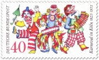Briefmarke: Karneval In Köln - Jecken