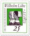 Briefmarke: Krankenschwestern (Wilhelm Löhe)