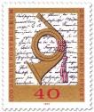 Posthorn -100 Jahre Postmuseum Frankfurt