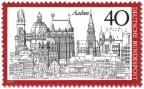 Briefmarke: Aachen Stadtansicht