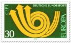 Europamarke 1973 (Posthorn)