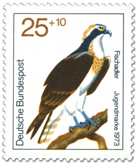 Briefmarke: Fischadler