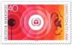 Briefmarke: Umweltschutz: Lärm, Schall und Ohr
