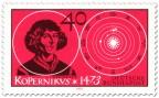 Briefmarke: Nikolaus Kopernikus (Astronom)