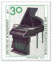 Briefmarke: Pedalflügel aus dem 18. Jahrhundert
