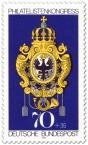 Briefmarke: Posthausschild Preußen