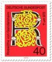Briefmarke: Roswitha von Gandersheim (Dichterin)