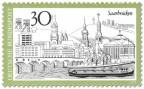 Briefmarke: Saarbrücken Stadtansicht