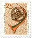 Briefmarke: Waldhorn aus dem 19 .Jahrhundert
