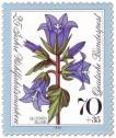 Briefmarke: Blaue Glockenblume