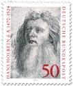 Briefmarke: Hans Holbein d. Ä. (Maler der Renaissance)
