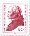 Briefmarke: Immanuel Kant (Philosoph), 1974
