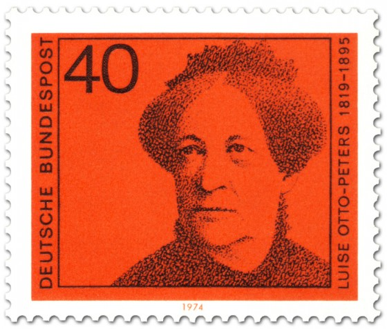 Briefmarke: Luise Otto Peters (Frauenrechtlerin)