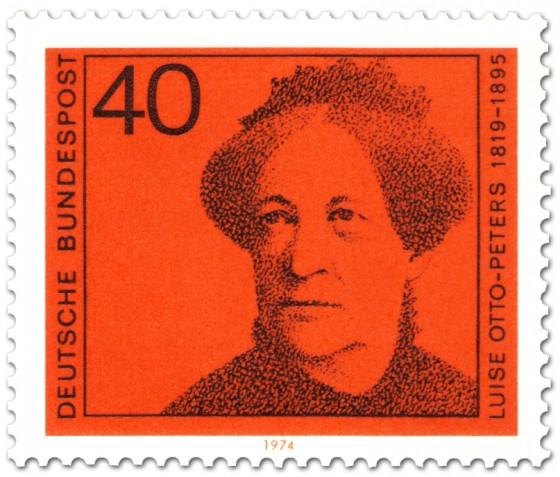 Briefmarke: Luise Otto Peters (Frauenrechtlerin)