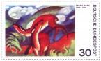 Briefmarke: Rehe von Franz Marc