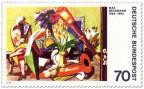 Briefmarke: Stillleben mit Fernrohr von Max Beckmann