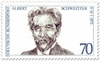Briefmarke: Albert Schweitzer (Arzt)