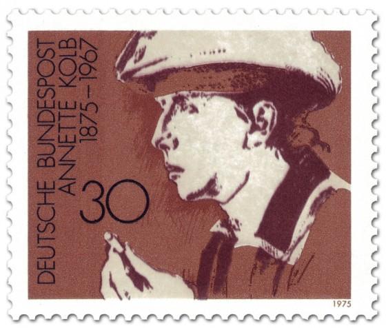 Briefmarke: Annette Kolb (Schriftstellerin)