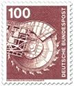 Briefmarke: Braunkohlenförderbagger