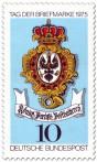 Briefmarke Posthausschild (Preußische Posthalterei)