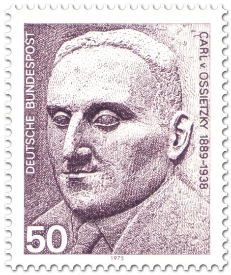 Briefmarke: Carl Von Ossietzky (Schriftsteller, Journalist)