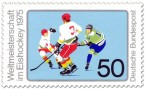 Briefmarke: Eishockey WM 1975