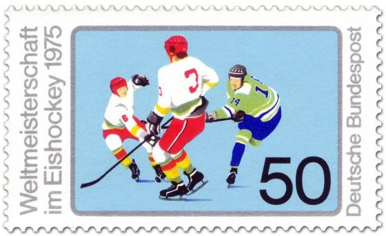 Briefmarke: Eishockey WM 1975