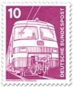 Briefmarke: E-Lok Nahverkehrstriebzug ET 420/421