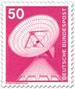 Briefmarke: Erdfunkstelle