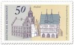 Briefmarke: Fachwerkhäuser in Alsfeld